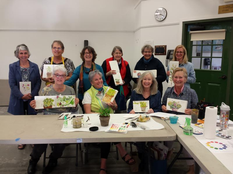 Group Photo RAL pen and ink workshop 2/25/17