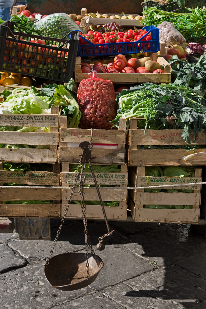 Veggie Vendor, Amalfi Coast